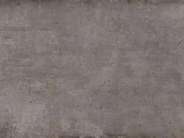 Pavimento/rivestimento in gres porcellanato effetto pietra ULTRA TEKNOSTONE - TOBACCO