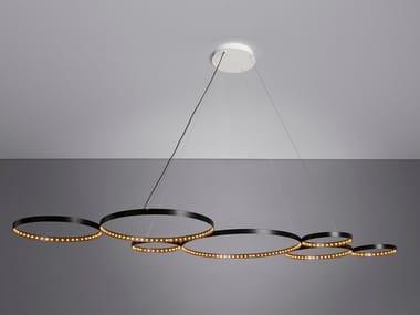 Lampada a sospensione a LED a luce diretta e indiretta ULTRA8