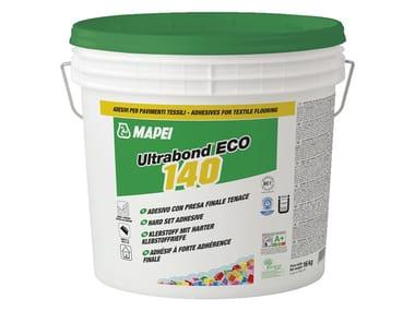 Adesivo con presa finale tenace per pavimenti tessili ULTRABOND ECO 140