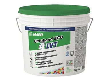 Adesivo fibrorinforzato per LVT ULTRABOND ECO 4 LVT
