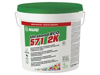 Adesivo poliuretanico per pavimenti in PVC e gomma ULTRABOND ECO 571 2K