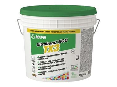 Adesivo per pavimentazioni tessili e in linoleum ULTRABOND ECO TX3