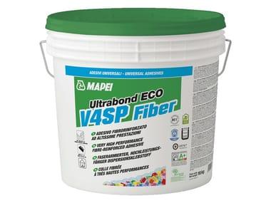 Adesivo fibrorinforzato per pavimentazioni in gomma e PVC ULTRABOND ECO V4 SP FIBER
