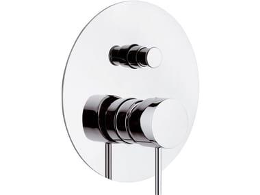 Miscelatore per doccia da incasso monocomando in ottone con deviatore ULTRAMINIMAL | Miscelatore per doccia con deviatore
