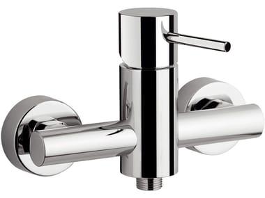 Miscelatore per doccia a 2 fori esterno monocomando in ottone ULTRAMINIMAL | Miscelatore per doccia esterno