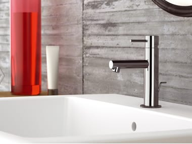 Miscelatore per lavabo da piano monocomando in ottone ULTRAMINIMAL | Miscelatore per lavabo