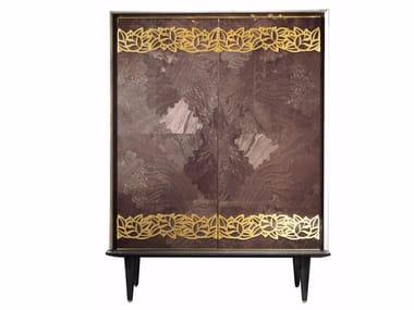 Lacquered bar cabinet ULYSSE | Bar cabinet