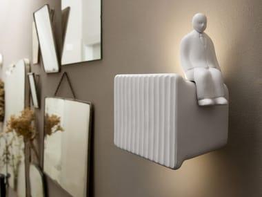 Applique a LED a luce diretta e indiretta in ceramica UMARELL