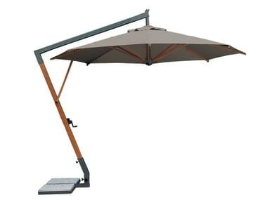 Wooden Garden umbrella Wooden Garden umbrella