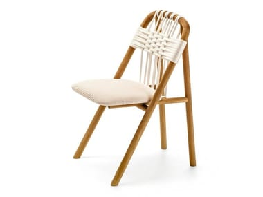 Iroko garden chair UNAM OUT 01/C