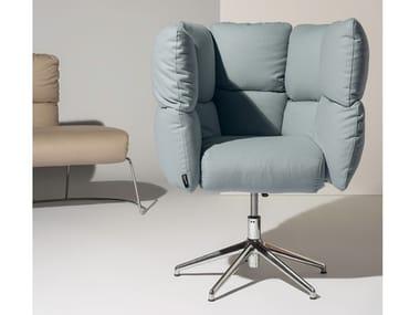 Swivel velvet armchair UNDECIDED   Armchair