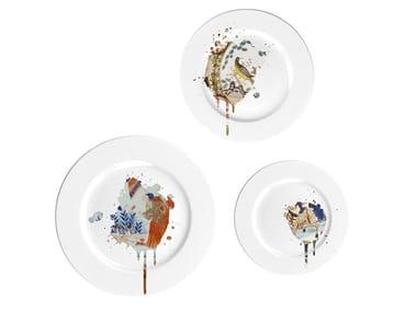 Porcelain plate UNDERCOVER IMARI