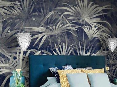 Papel de parede ecológico de tecido não tecido UNDERGROWTH