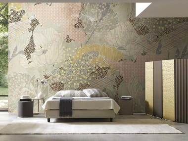 Wallpaper with floral pattern UNDERSTORY