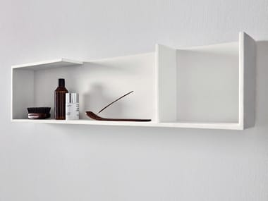 Corian® bathroom wall shelf UNICO | Bathroom wall shelf