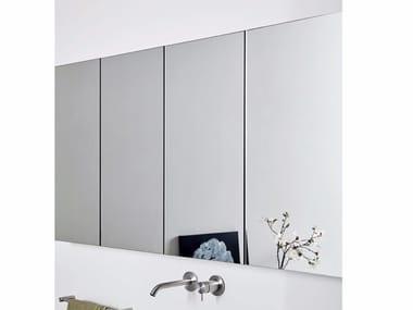 Specchio da parete con contenitore per bagno UNICO | Specchio con contenitore