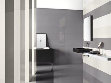 Indoor glass ceramic wall tiles UNICOLOR