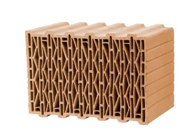 Thermal insulating clay block UNIPOR W09 - W10 - W12 PLANZIEGEL