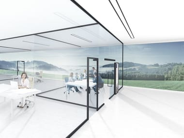 Glass movable wall UNIQUIN
