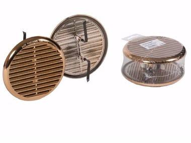 Griglia di ventilazione rotonda in ABS GRIGLIA UNIVERSALE RAMATA