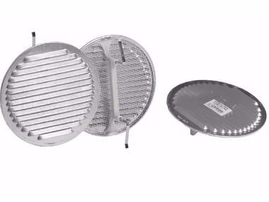 Griglia di ventilazione rotonda in alluminio GRIGLIA UNIVERSALE ALLUMINIO