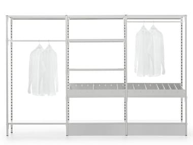 Cabina armadio in metallo su misura UNO | Cabina armadio