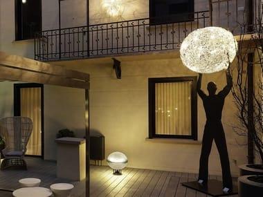 LED floor lamp UOMO DELLA LUCE XXL