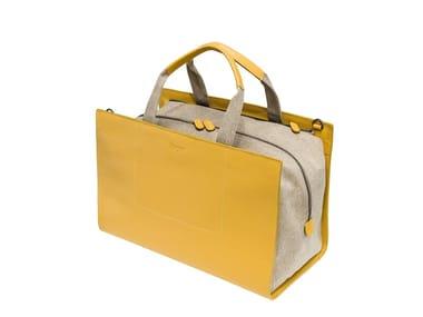 Leather bag UPER BAG WEEKENDER