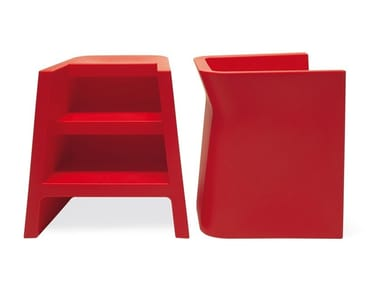 Polypropylene easy chair / step stools UPGRADE