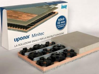 Radiant floor panel UPONOR MINITEC - KNAUF NE425