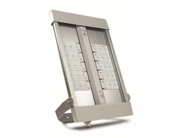 LED extruded aluminium Outdoor floodlight URANO