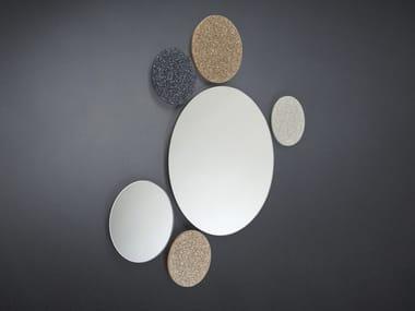 Round wall-mounted mirror URANUS