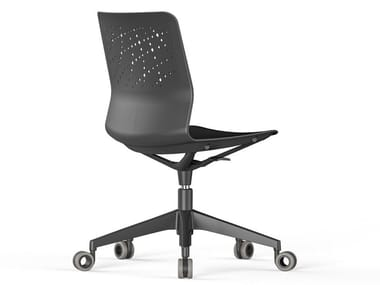 Office chair with 5-Spoke base with castors URBAN-BLOCK | Office chair