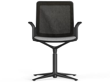 Office chair with 4-Spoke base with armrests URBAN PLUS | Office chair