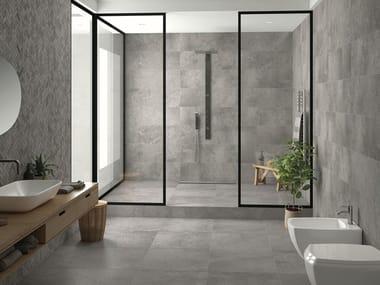 Porcelain stoneware wall/floor tiles with concrete effect URBAN STONE