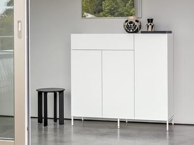 Sideboard with doors URBAN