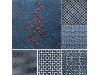 Lava stone wall tiles / flooring URBAN TILE