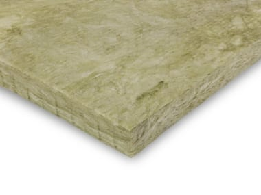 Sound insulation and sound absorbing panel in mineral fibre URSA TERRA 62