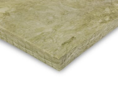 Sound insulation and sound absorbing panel in mineral fibre URSA TERRA 66
