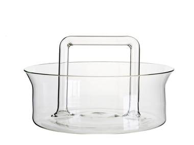Borosilicate glass fruit bowl UTILES | Fruit bowl