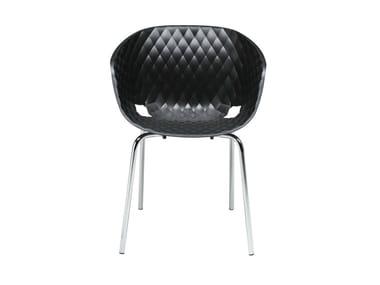 Stackable polypropylene chair UNI-KA 594