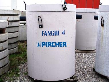 Sedimentation tank for drainage system V.R.F. 4 SG