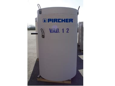 Oil separator, de-oiler and grease separator V.R.O.