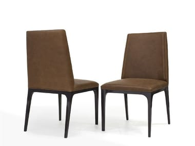 Upholstered leather chair V144   Chair