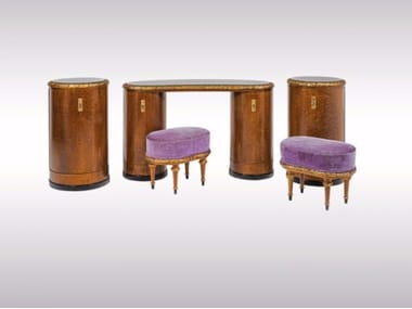 Wooden Dressing Table VANITY ENSEMBLE
