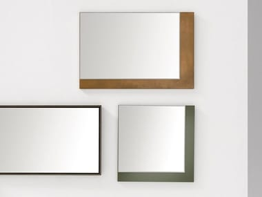 Wall-mounted framed mirror VANITY