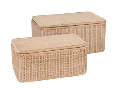 Rattan laundry container VANNERIE | Rattan laundry container