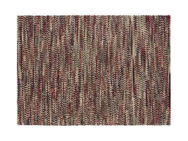 Rectangular wool rug VARESE