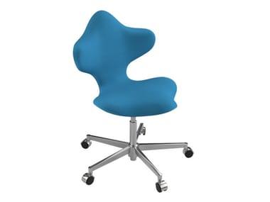 Höhenverstellbarer Bürostuhl mit Rollen VARIER® ACTIVE