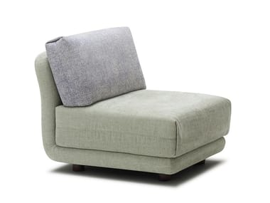 Sectional fabric armchair VARIO | Armchair
